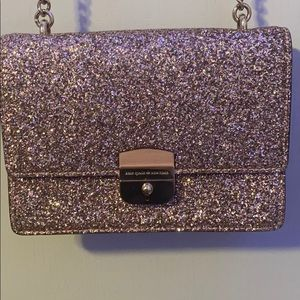 Small pink sparkly Kate Spade purse!
